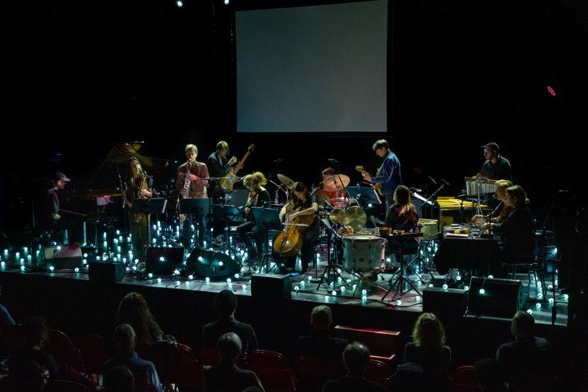 Trondheim jazzorkester & Johan Lindvall på Moldejazz 2020